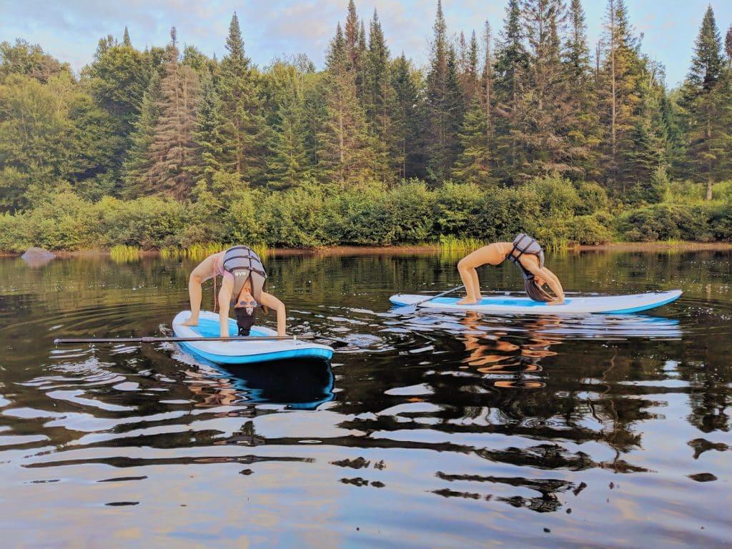 Location de paddleboard avec votre famille et vos amis. Louer des paddleboards et trouver des paddleboards à louer dans Lanaudière.
